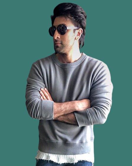 Ranbir Kapoor biceps