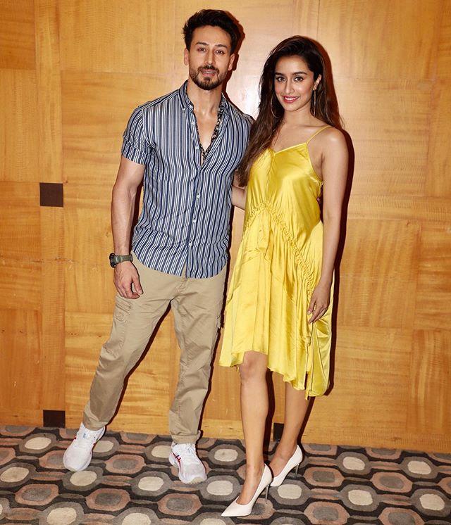 Shraddha Kapoor with Tiger Shroff