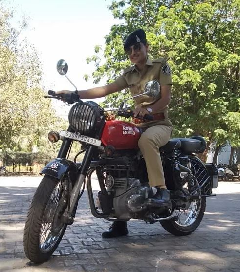 Sunita Yadav Strict Constable in Gujrat