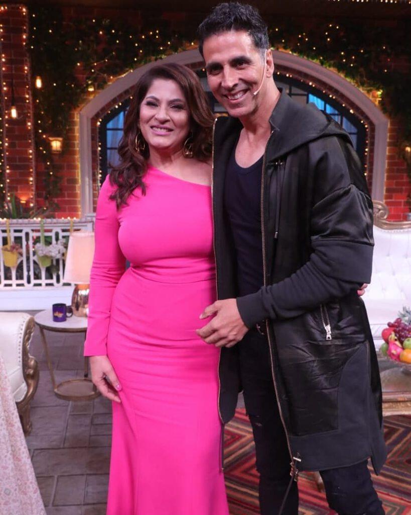 Akshay Kumar and Archana Puran Singh