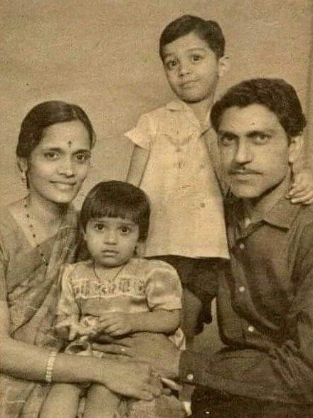 Amrish Puri family