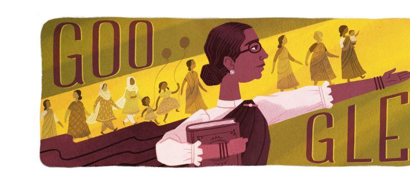 Muthulakshmi Reddi Google Doodle