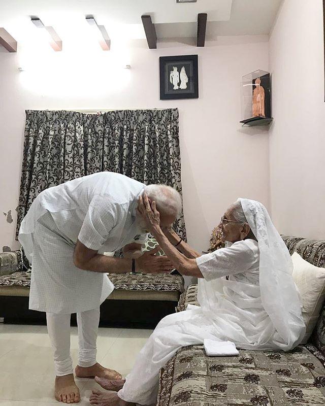 Narendra Modi mother