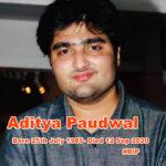 Aditya Paudwal -1
