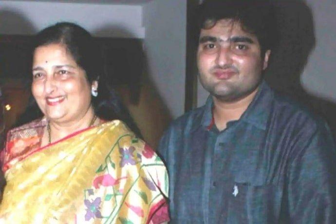 Aditya Paudwal and Anuradha Paudwal