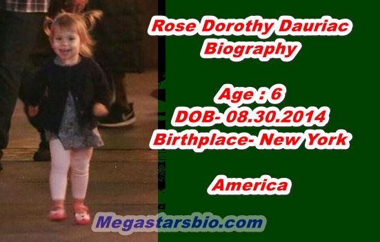 Rose Dorothy Dauriac Biography
