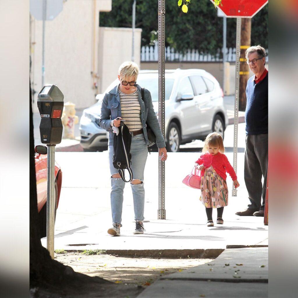Rose Dorothy Dauriac with Scarlett Johansson