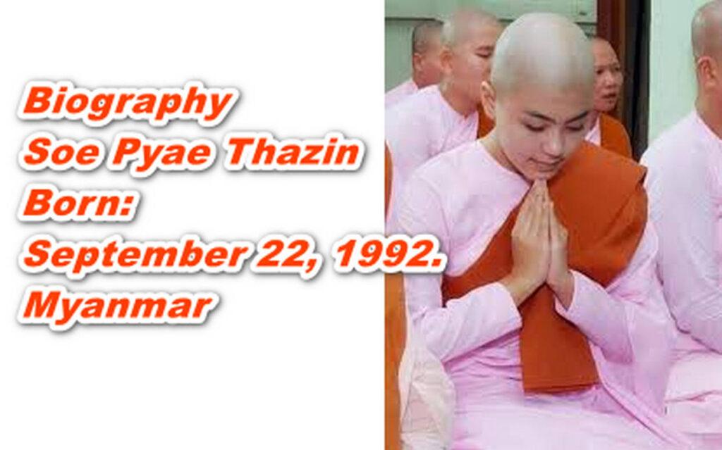 Soe Pyae Thazin nun