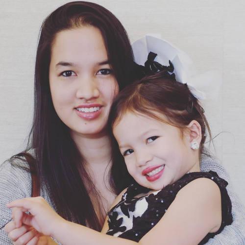 Malaya with mom