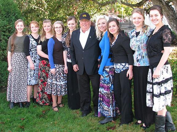 Winston Blackmore Family Tree