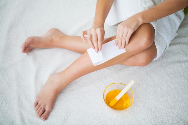 How to apply Sugar wax