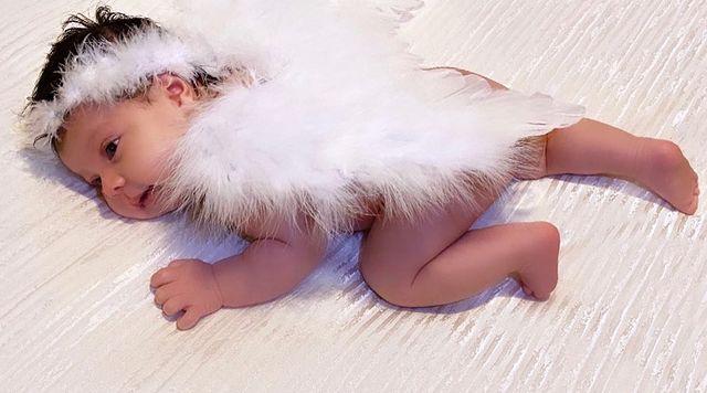 Angel Del Villar & Cheli Madrid Daughter-3