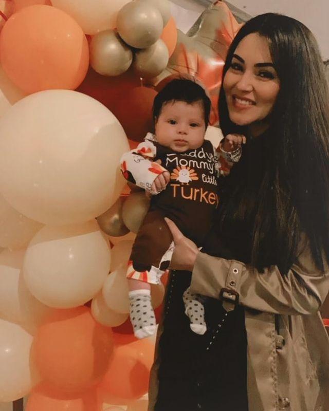 Angel Del Villar & Cheli Madrid Daughter-4