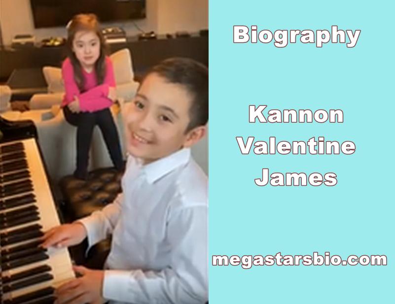 Kannon Valentine James Biography