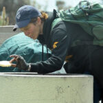 Loni WilliSon Searching Trash