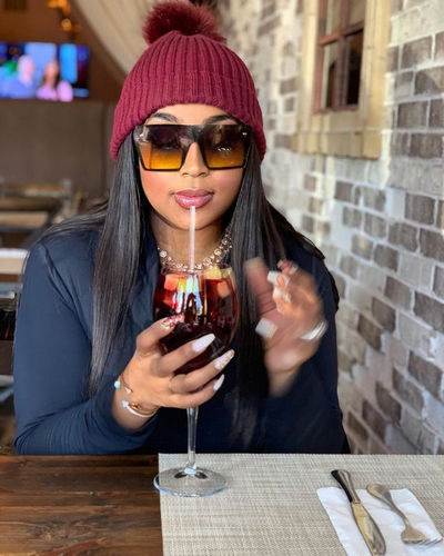 Tanisha Thomas Liquid Diet