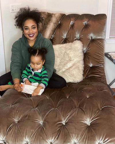 Tanisha Thomas Son