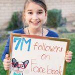 Karolina Protsenko 7 million Followers on Facebook