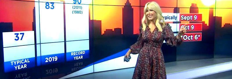Alexandra Steele Weather Reporter