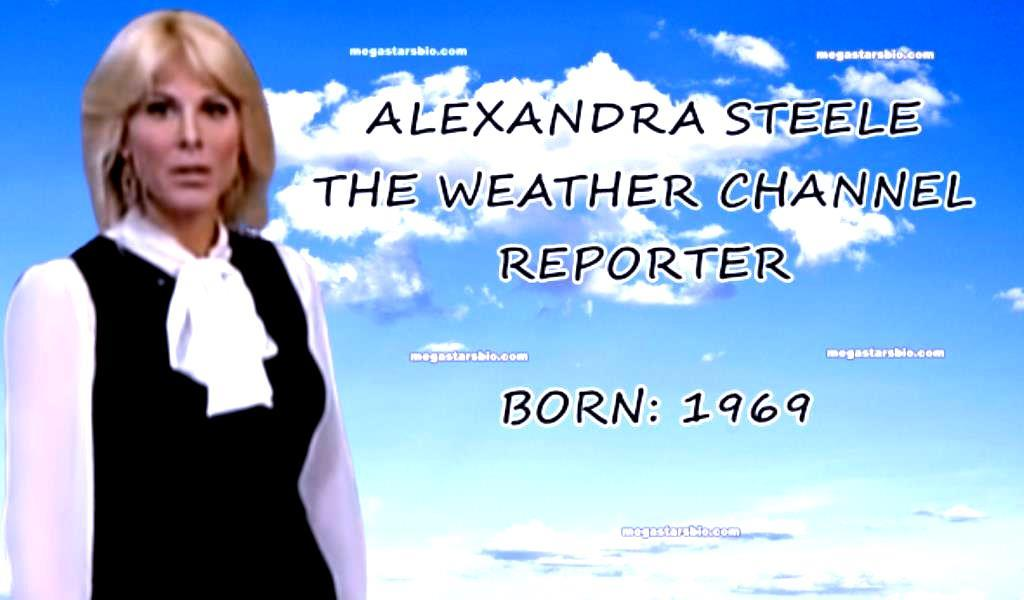 Alexandra Steele of The Weather Channel