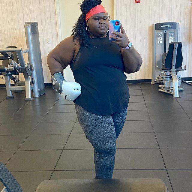 Gabourey Sidibe Exercise