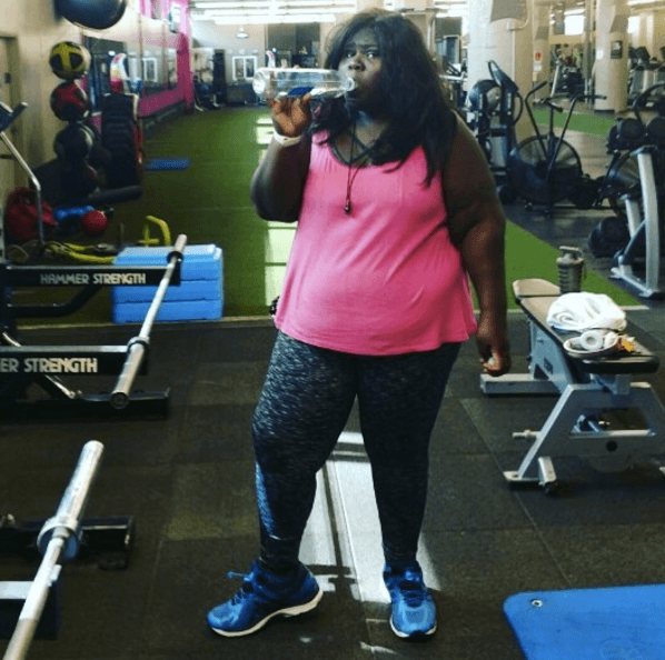 Gabourey Sidibe Gym